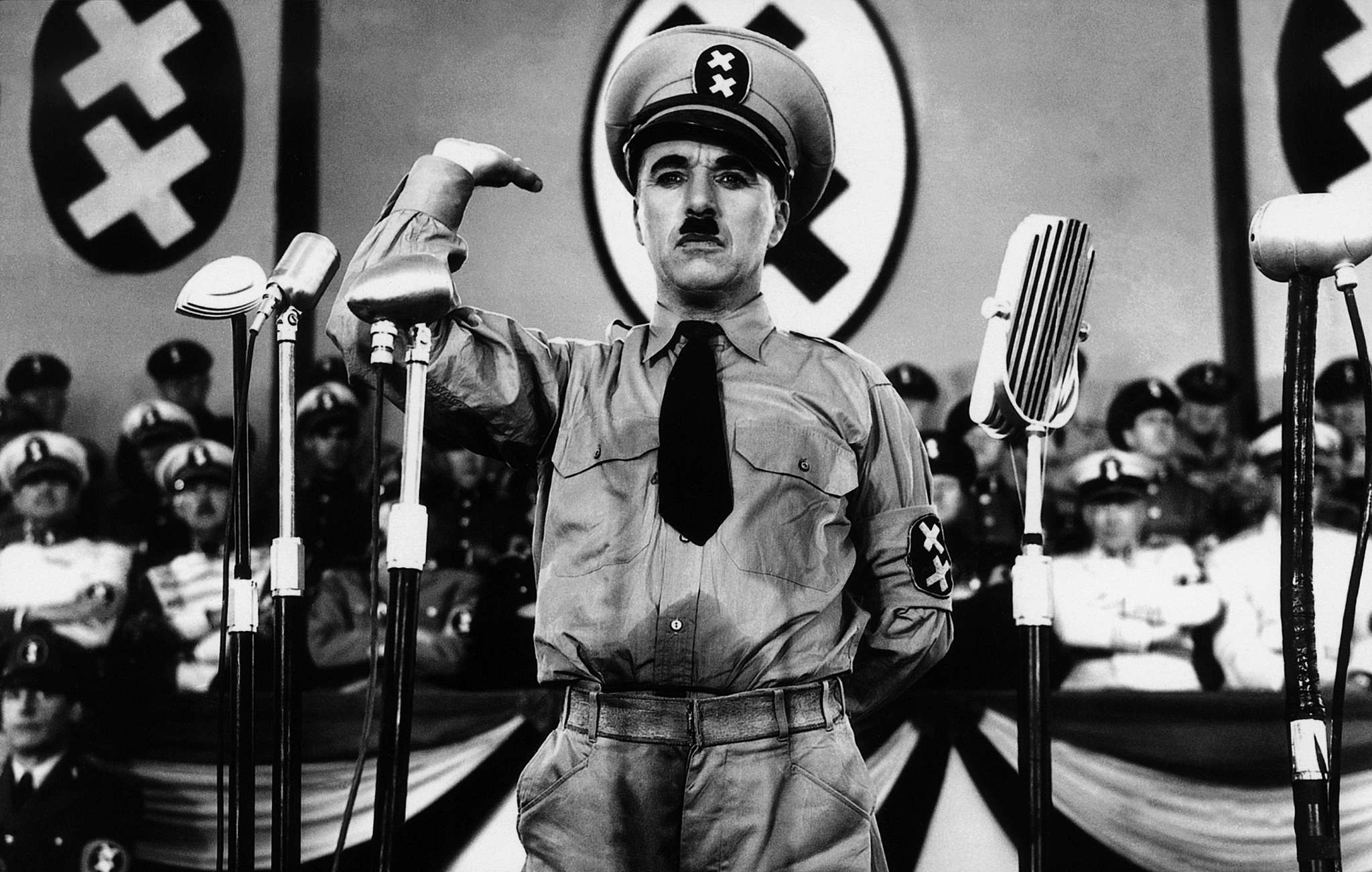 speech by charlie chaplin in the The great dictator became charlie chaplin's most commercially successful film, in spite of the enormous risk involved making it we hope the speech made you feel inspired to go out and take.